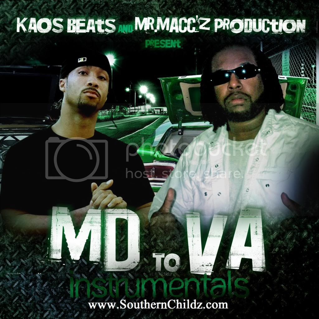 Kenny ''Kaos Beats'' And Mr.Macc'z Production - MD To VA Instrumentals