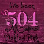 I&#8217;m  Tickled Pink at 504 Main